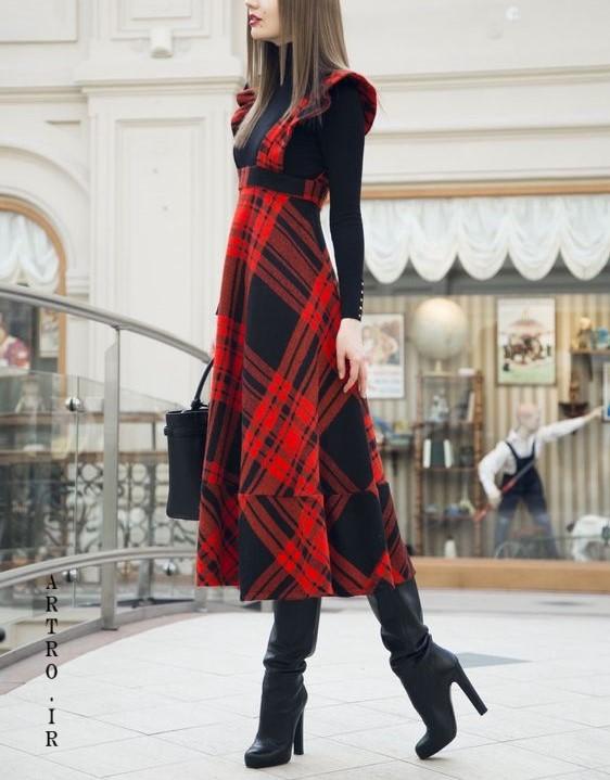 مدل مانتو سارافون جدید زنانه